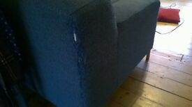 Free Ikea sofa and footstool pouffe - some wear and tear, buyer collects.
