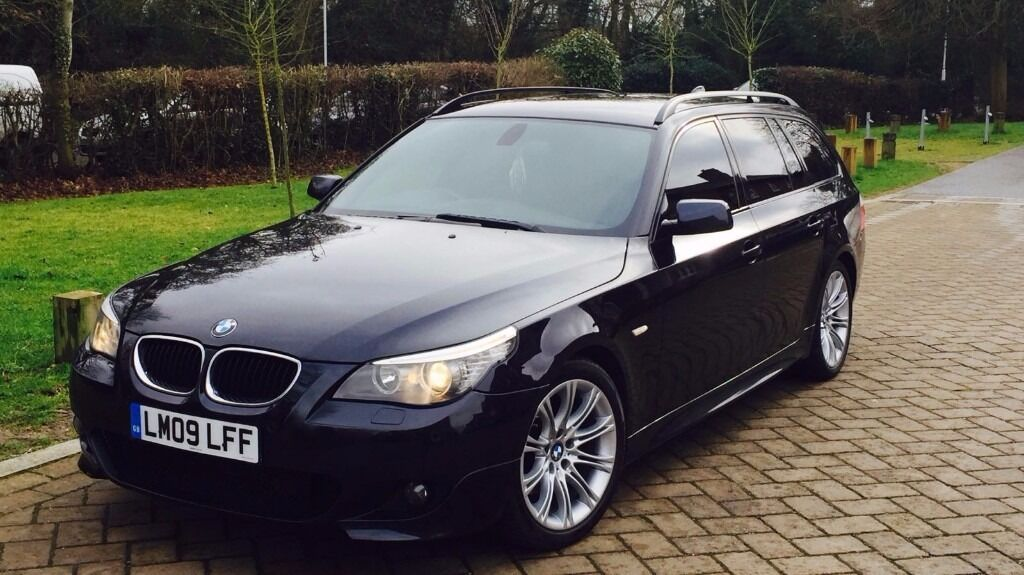 2009 bmw 520d m sport business edition estate touring e61. Black Bedroom Furniture Sets. Home Design Ideas