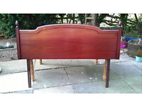 Solid Mahogany Headboard for Double Bed
