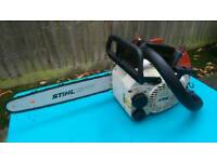 Stihl 019t top Handle Climbing Saw