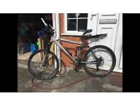 """SOLD! - DO NOT CONTACT.. Men's Carrera Mountain Bike - 26"""" frame."""