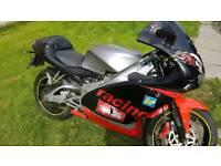 Aprillla RS 125cc motorbike