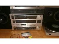 Wanted silver cd player and record deck