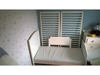 white Cot /Bed