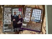 2 Great British Sewing Bee books