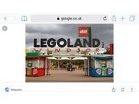Lego land pair of tickets