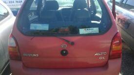 Suzuki Alto (2004) Tailgate - IN VERY GOOD CLEAN CONDITION!