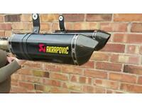 Speed triple 1050 11 to 15 akrapovic exhaust system