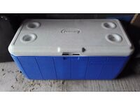 EXTRA LARGE COLEMAN COOL BOX VERY GOOD CONDITION,ONLY USED A FEW TIMES