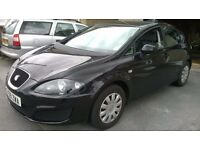 For sale black seat leon 09