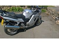 beautiful Honda blackbird silver with loads extras