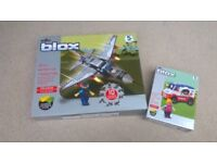 BLOX LEGO TYPE SETS ,JET PLANE AND ICE CREAM VAN,BRAND NEW NEVER BEEN OPENED