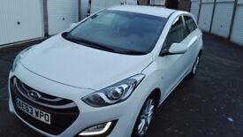 2013 Hyundai i30 1.4 Style 5 door Petrol Hatchback 16327 miles only £6500