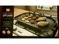 Twin Hob Grill Plate