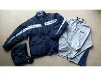 Mens Coat/Jacket - Starter Athletic Ultra-Warm Down & Feather 3-in-1 Coat (large)
