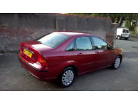 2002 Ford Focus Ghia 4dr Saloon 12 Months MOT Full Leather & Front Heated Seats