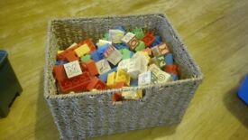 Assorted children's building blocks