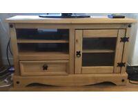 Corona pine tv cabinet