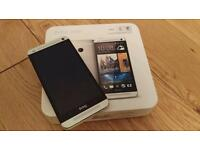 HTC ONE M7 32G SILVER BOXED EXCELLENT CONDITION