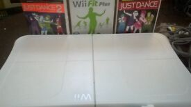 Wii Fit Bundle. Get fit in the comfort of your own home!
