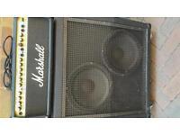 MARSHALL Valvestate 100v 8100 Head and Speaker