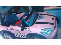 electric ride on Mini in pink (6 volt)