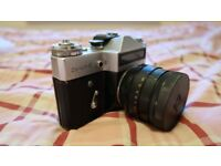 Zenit 35mm film camera with lens
