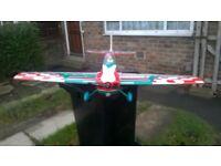 R C stunt plane (nitro)