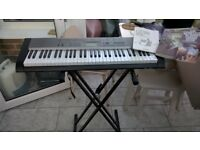 CASIO LK-120 61 NOTE ELECTRONIC KEY BOARD AND STAND 07718671691