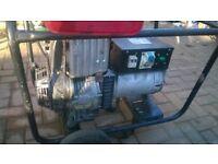 Lombardini 15 LD 350 Diesel Electric Generator 6Kva 240v 110v