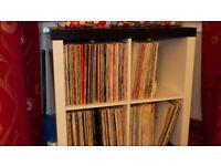 Two Tone Record Storage Unit