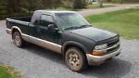 1998 Chevrolet S-10 Pickup Truck Parts or Repar
