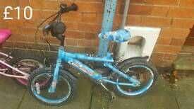 Kids bike half price free delivery in leicester