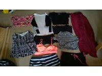 big bundle of ladies size 10 clothes