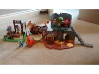 Mike The Knight Castle, Arena Playset & Viking Boat Bundle
