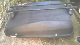 Car Roof Box and Thule Roof Bars