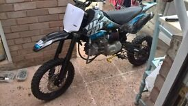 Wpb/Stomp Crf 70 160cc Twin. (not 125/140)