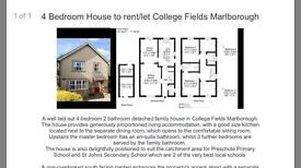 4 bedroom detached house in Marlborough , Wilts