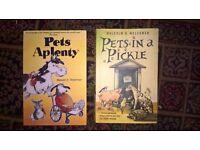 Malcolm D Welshman Books - Pets in a Pickle & Pets Aplenty