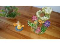 4 fish tank ornaments