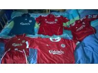 Rangers and Liverpool tops