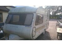 Windrush 132 2 Berth Caravan