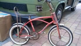 Kids Retro Chopper style bike