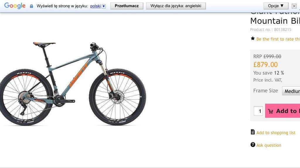 New Giant FATHOM 2 2018 mountain bike RRP£999 Dropper seatpost | in Bolton,  Manchester | Gumtree