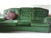 Good condition second hand sofa