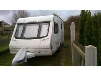 1995 2 berth caravan for sale swift celeste full awning and porch awning