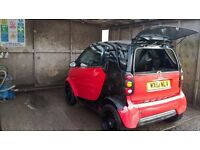 Smart car (450) Outer Panels , Headlamps,Rear lamps, Mirrors, Seats