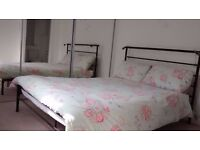 House clearance - Furniture for sale (wardrobe,sofa, armchair,TV unit, chest of drawers, double bed)