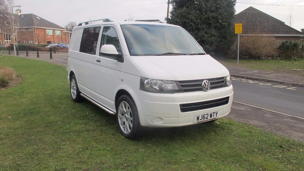 VW Transporter T5 T32 Swb GP 51 102BHP Window Van NO VAT GBP12450