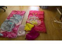 2 x childrens sleeping bags